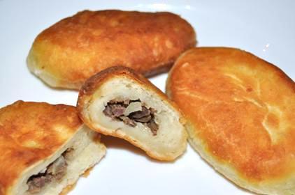 Пирожки из творожного теста жареные, фото