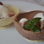 Шоколадные стаканчики для десерта