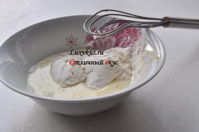 Тесто для омлета