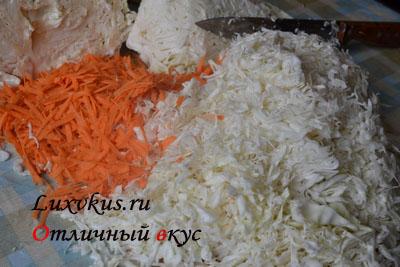 Капуста и морковь для засолки
