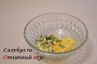 Начинка из яиц и зелени