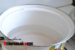 вода для сырного супа