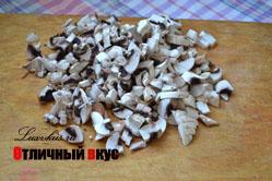 грибы для сырного супа