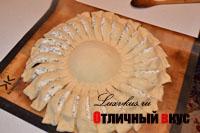пирог-ромашка