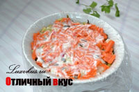 Слой морковь2