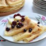 Рецепт блинов на сыворотке
