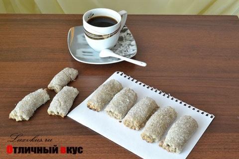 Домашнее песочное печенье