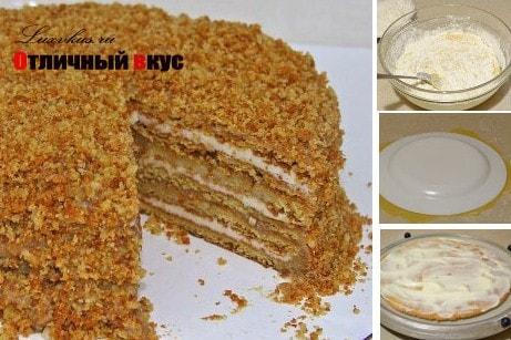 фото медового торта