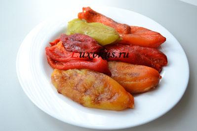 Болгарский обжаренный перец