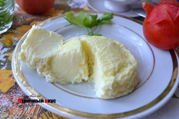 Как готовят паровой омлет