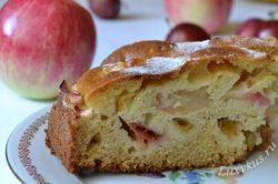 Яблочный пирог фото
