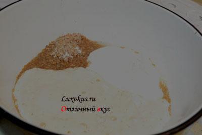 Тесто с отрубями