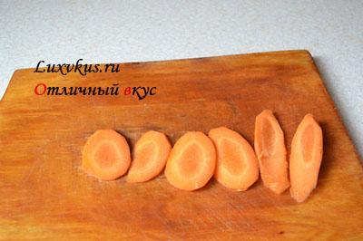 Морковь в масле