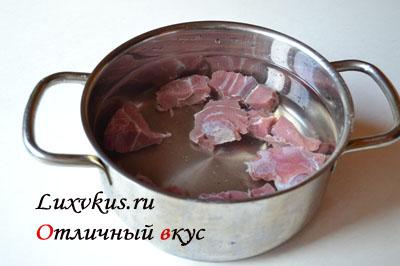 Телятина для супа