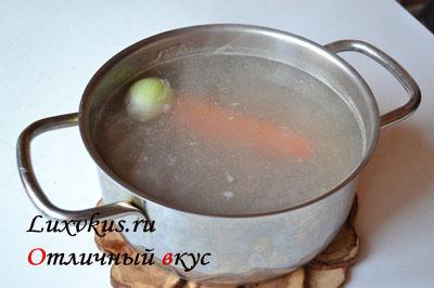 Бульон для супа харчо