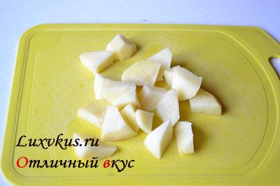 Картофель для супа харчо