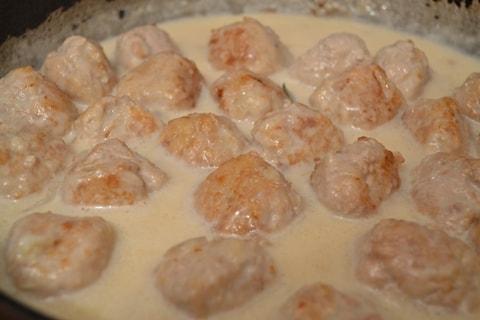 Тефтели в белом соусе рецепт сфото