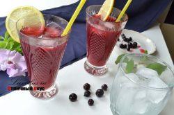 лимонад из черной смородины