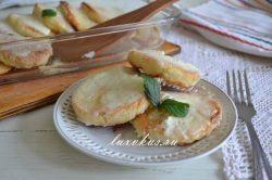 Сырники со сметаной запеченные в духовке